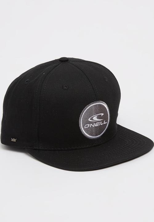 b87d4455a7bf6 Podium Hat Black O Neill Headwear