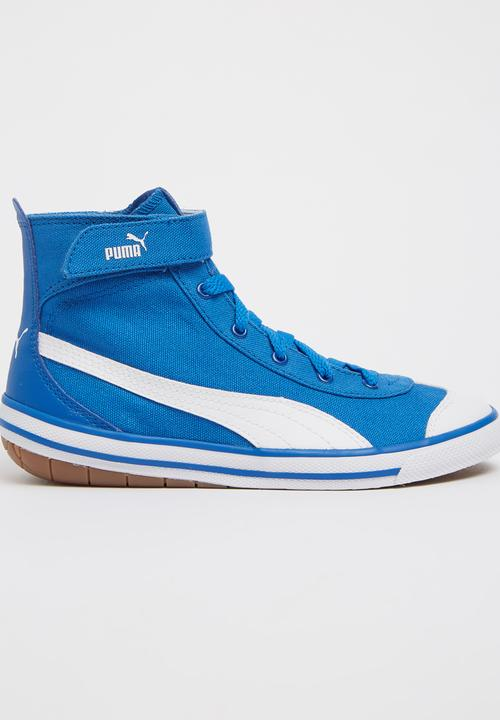 036668d9b0fff0 High Top Sneaker Blue PUMA Shoes