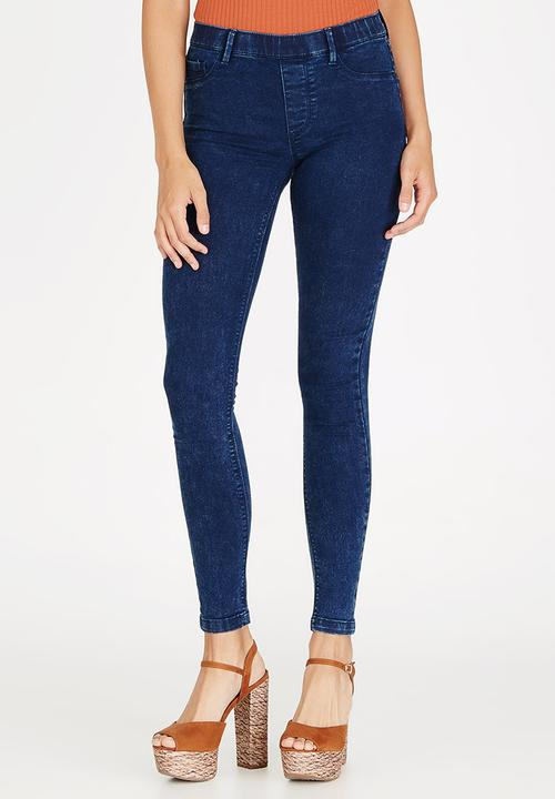 38342a1f755 Fame Skinny Leggings Dark Blue