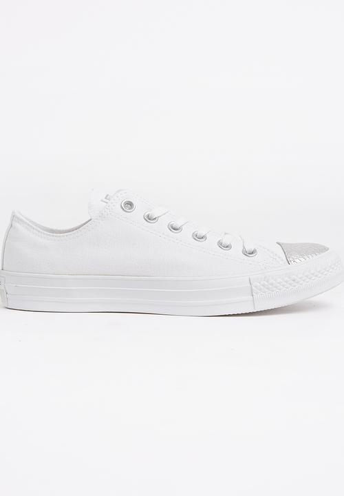1b79df71cb4b Ctas Metallic Toe-cap L Ox White Converse Sneakers