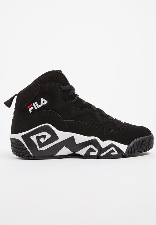 46bc4e15 FILA MB Original Heritage Sneakers Black and White