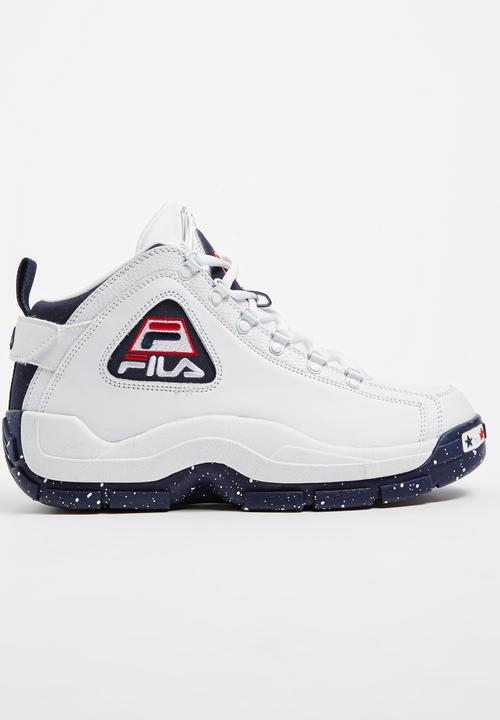 half off d49dd b7986 FILA - FILA Grant Hill 96OLY Heritage Sneakers Black and White