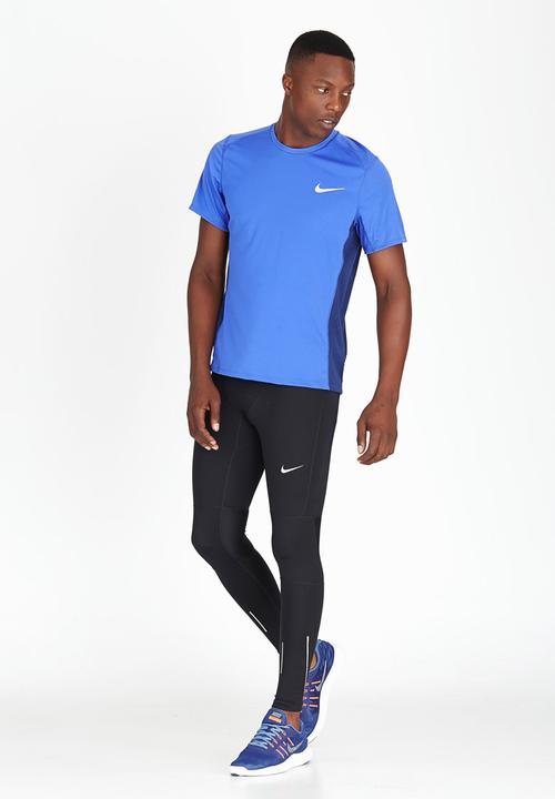 94fbe29f1 Nike Dry Miler Running Top Blue Nike T-Shirts & Vests | Superbalist.com