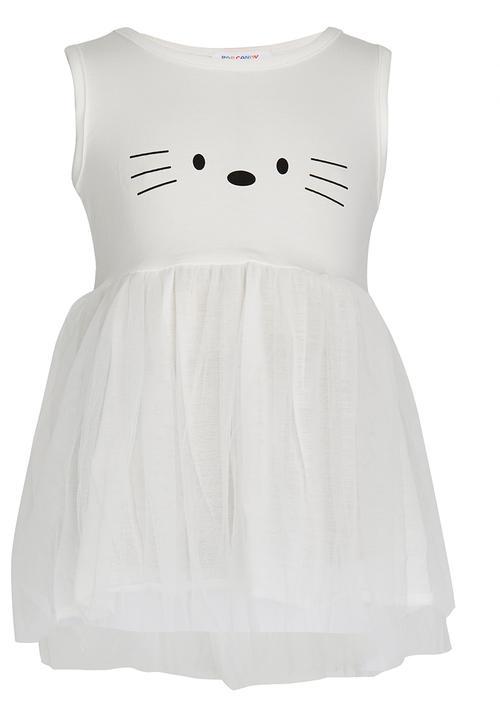4b846a5539d4d Girls Summer Dress White POP CANDY Dresses & Skirts | Superbalist.com