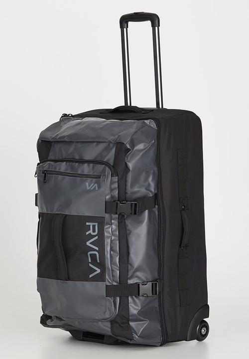 RVCA Voyage Roller Bag Black RVCA Bags   Wallets  621ef6f745789