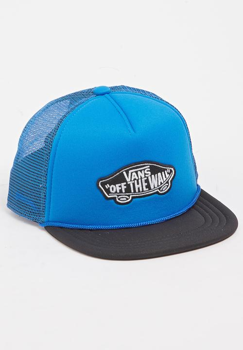 f47ae2b2c0e Trucker Cap Blue Vans Accessories