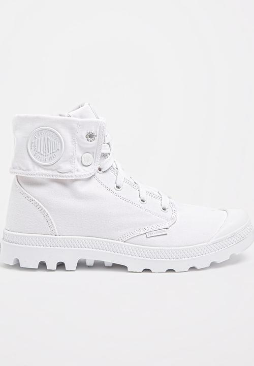 excellent quality buying new exquisite design Palladium Blanc Baggy Boots White