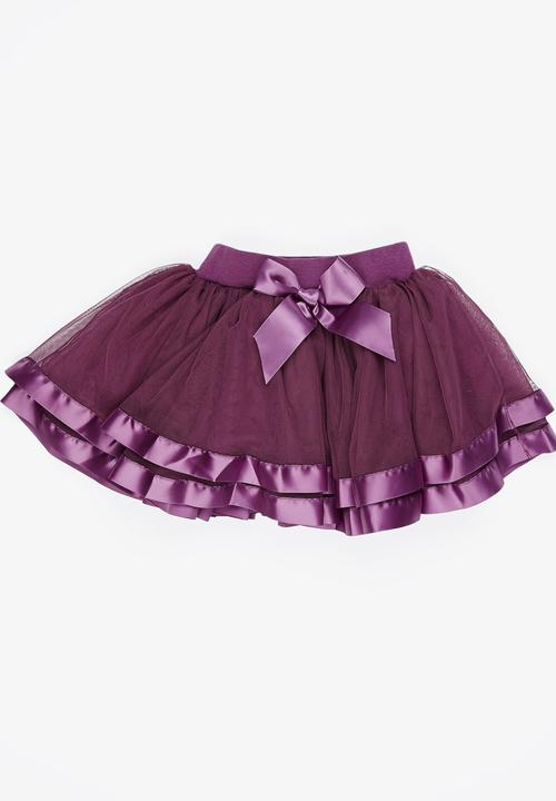 1528fbbc8a5a Mesh Skirt Mid Purple POP CANDY Dresses & Skirts   Superbalist.com