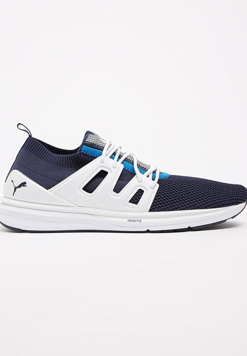 0be96b001a25 B.O.G Limitless Lo evoKNIT Dark Blue PUMA Sneakers