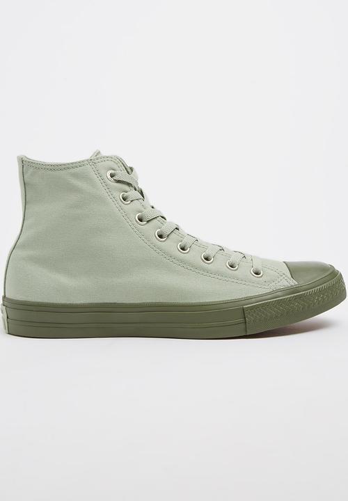4cd080a914b Converse - Chuck Taylor All Star II Contrast Midsole HI Sneak Light Green