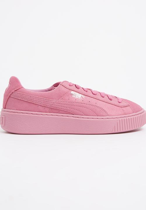 25b7da78c679 Puma Basket Platform Reset Pale Pink PUMA Sneakers