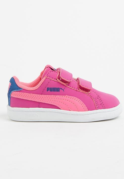 4049506b3cb Puma Smash Fun Buck Sneaker Mid Pink PUMA Shoes