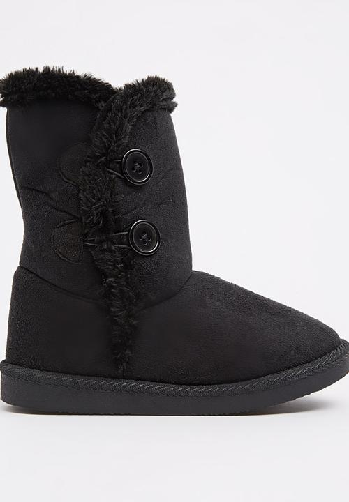 a318f2607 Ugg boot with Fur Inner Black Foot Focus Shoes | Superbalist.com