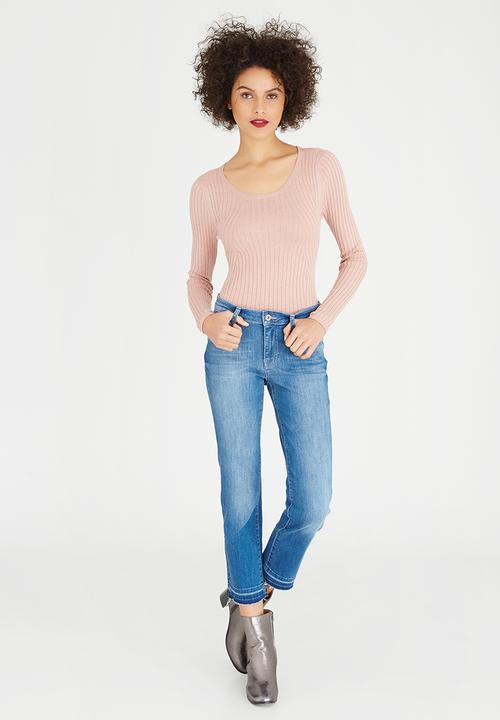 34e57ddc Naomi Longer Length Cropped Jeans Mid Blue ONLY Jeans | Superbalist.com