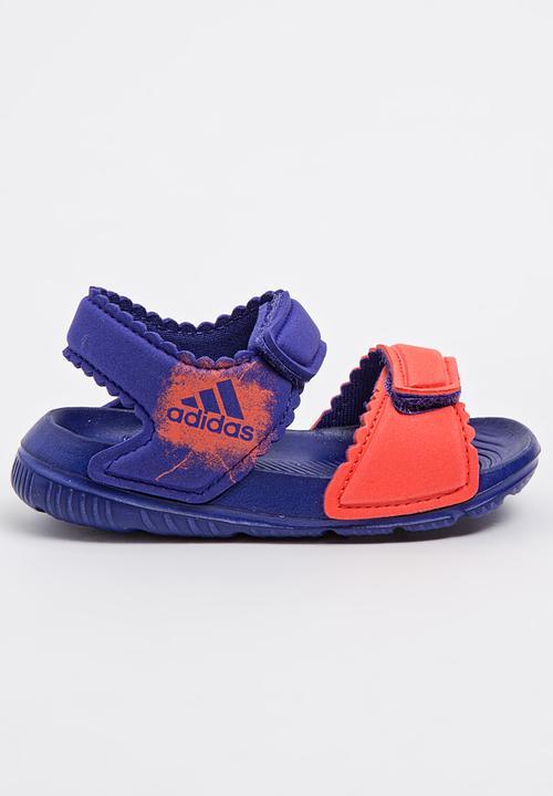82a85fa7fe22 Alta Swim Sandal Dark Purple adidas Performance Shoes