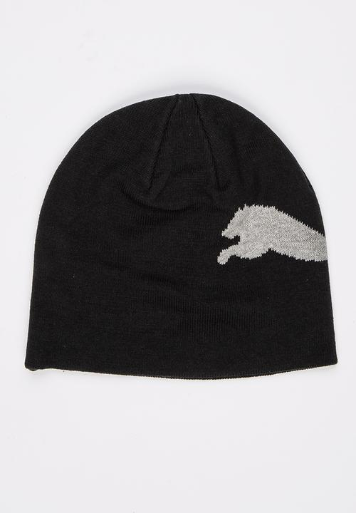 38396c85e4e Puma Big Cat Logo Beanie Black PUMA Headwear