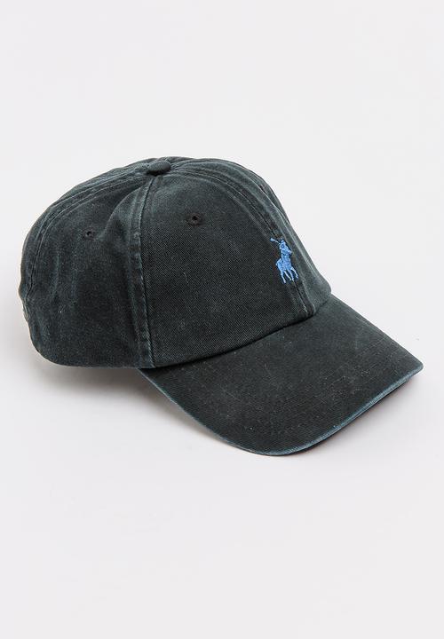 Parker Classic Peak Cap Black POLO Headwear  33ceff68a70