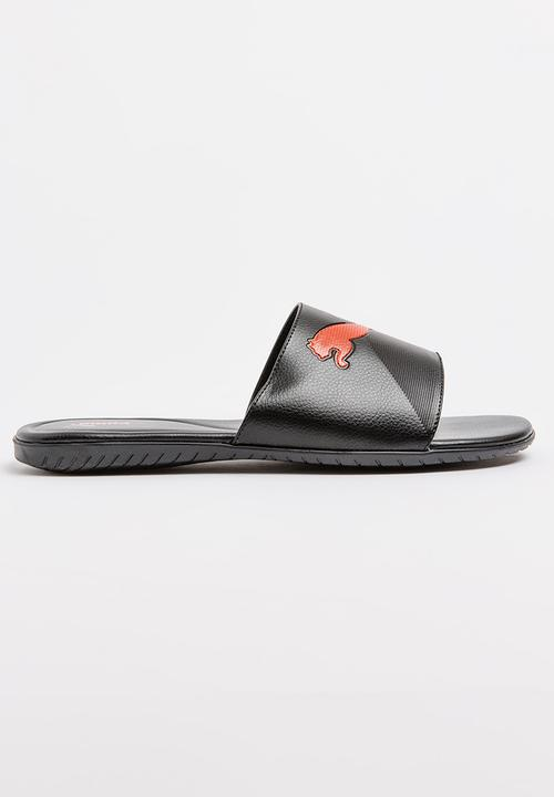 69c39802f ATH Hurricane Slider Sandal Black PUMA Sandals   Flip Flops ...