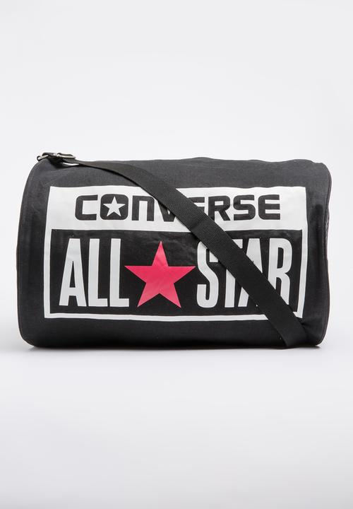 Legacy Barrel Duffel Bag Black Converse Bags   Wallets  19b900c80f7e9