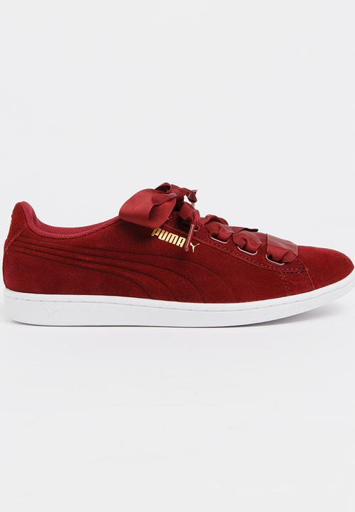 263a2b1ca69 Puma Vikky Ribbon Sneakers Red PUMA Sneakers
