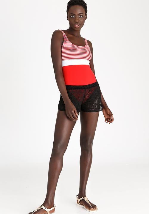 Crochet Shorts Black Kangol Kaftans Cover Ups Superbalistcom
