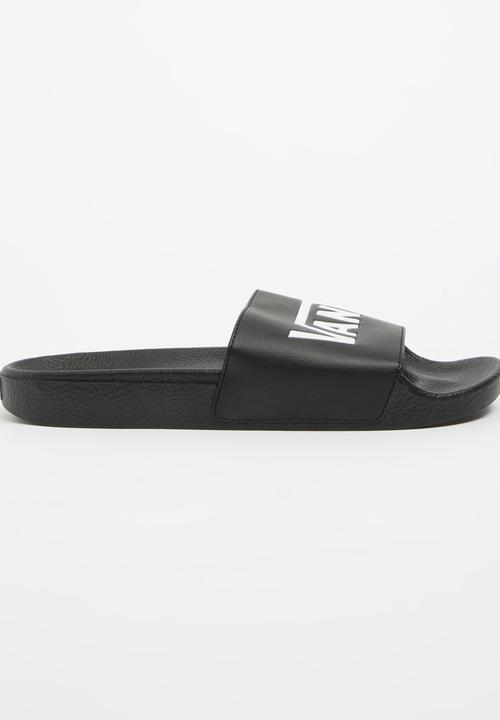 4c906a808a2 Vans Slide On Sandal Black Vans Sandals   Flip Flops