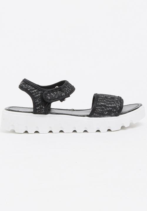 9e12ca0bcb8 Ankle-strap Sandals Black Candy s Sandals   Flip Flops
