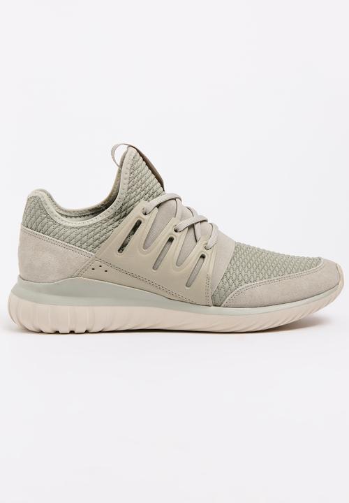 cheaper 4c642 256b1 adidas Originals - Adidas Tubular Radial Sneakers Cream