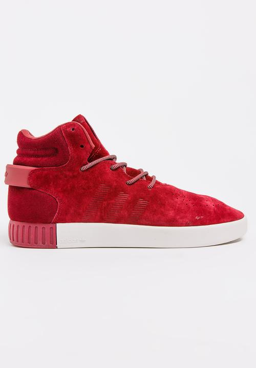 Adidas Tubular Invader Sneakers Burgundy adidas Originals Sneakers ... 6f480511e