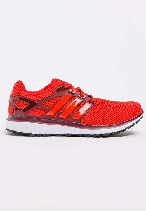 8707de434 adidas Energy Cloud Trainers Red adidas Performance Trainers ...