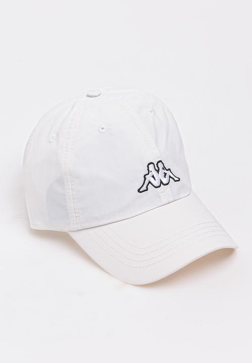 Driton Peak Cap White KAPPA Headwear  f236cd531989