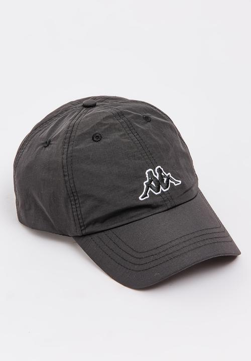 Driton Peak Cap Black KAPPA Headwear  0f39c4ab2748