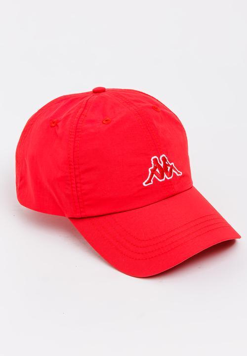 Driton Peak Cap Red KAPPA Headwear  11a7e66f0405