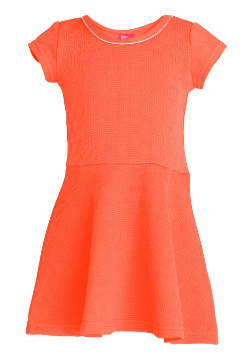 933c4fb3ef50 Skater Dress Orange Twin Clothing Dresses   Skirts