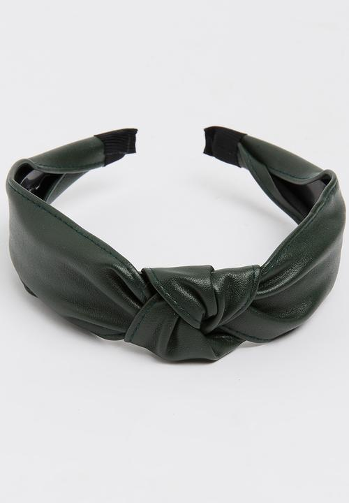 Top-Knot Aliceband Dark Green Joy Collectables Fashion Accessories ... 28e81d0d95a