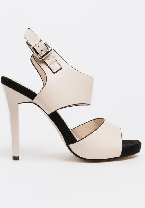 6d8040b6e33 Ankle-strap High Heels Off White Sissy Boy Heels