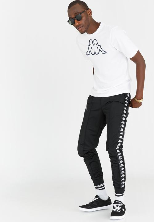 9067eef4 Banda Astoria Trackpants Black KAPPA Pants & Chinos | Superbalist.com