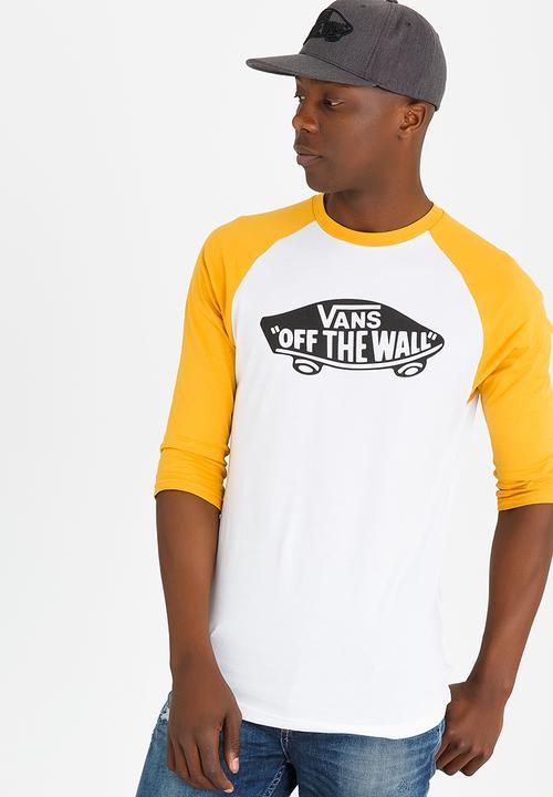 2f0dcbb947 OTW Raglan T Shirt White Vans T-Shirts   Vests