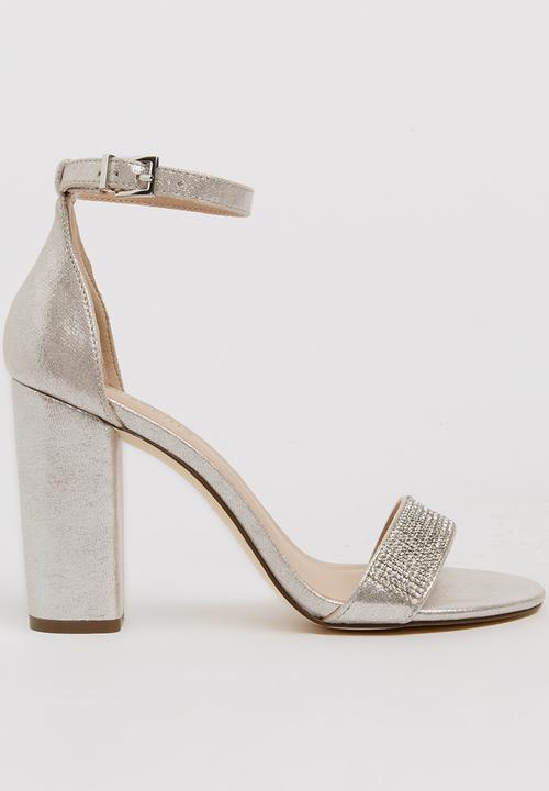 c19cd08e1b4 Mirelivia Heels Silver Call It Spring Heels | Superbalist.com