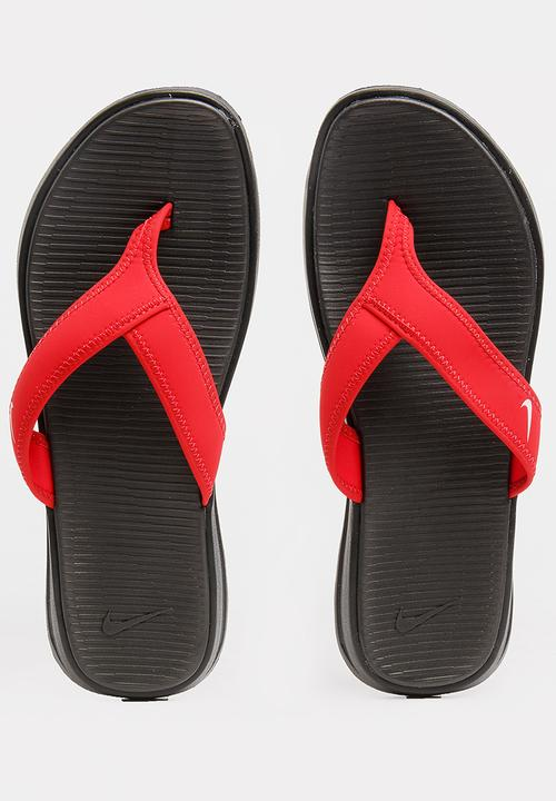 531c47218 Nike Ultra Celso Thong Flip Flops Red Nike Sandals   Flip Flops ...
