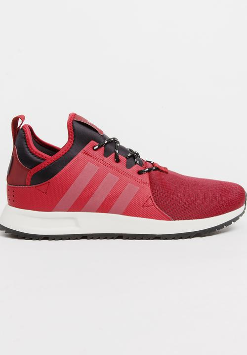 19ed6c62ef585 Adidas X PLR Sneakerboot Mono Burgundy adidas Originals Sneakers ...