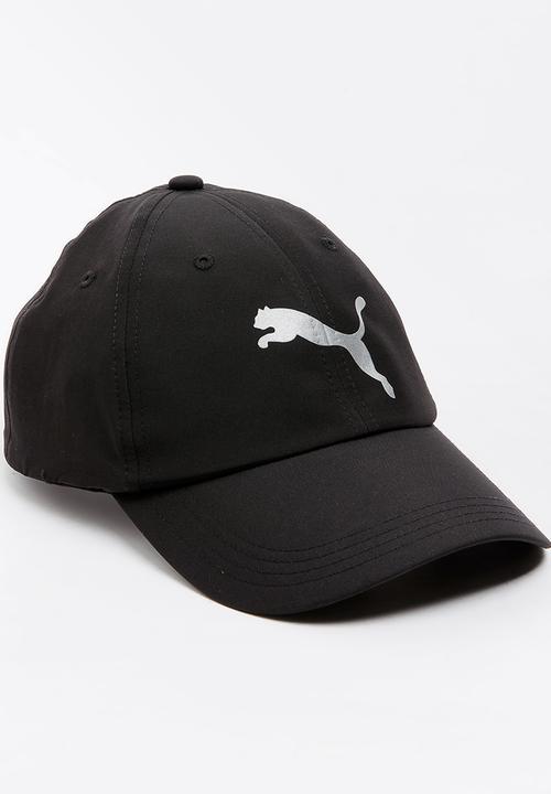 78674a5e151 Puma Essential Running Cap Black PUMA Headwear