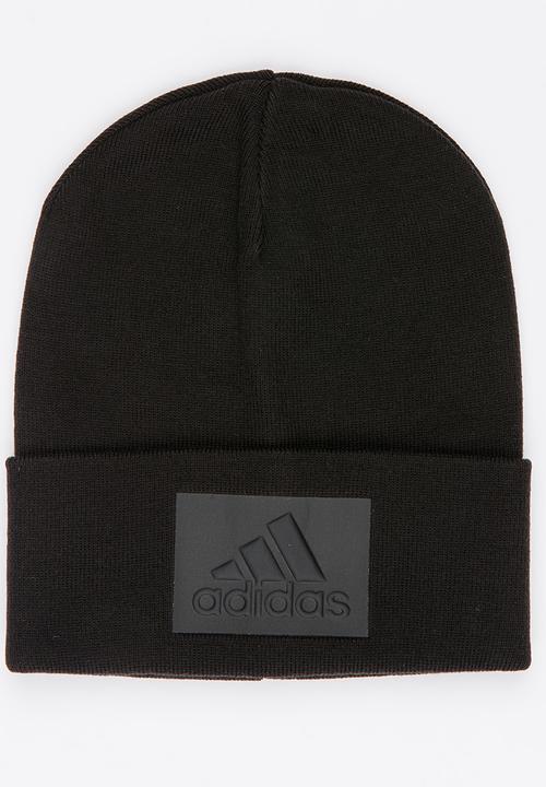 ZNE Logo Woolie Beanie Black adidas Performance Headwear ... ff4659a5e26