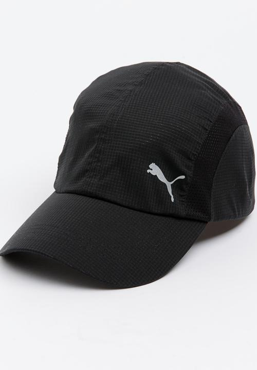7ed362c8e8a Puma Performance Running Cap Black PUMA Headwear