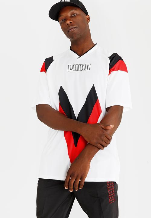 f7962c74aa0 Heritage Football Tee White PUMA T-Shirts | Superbalist.com