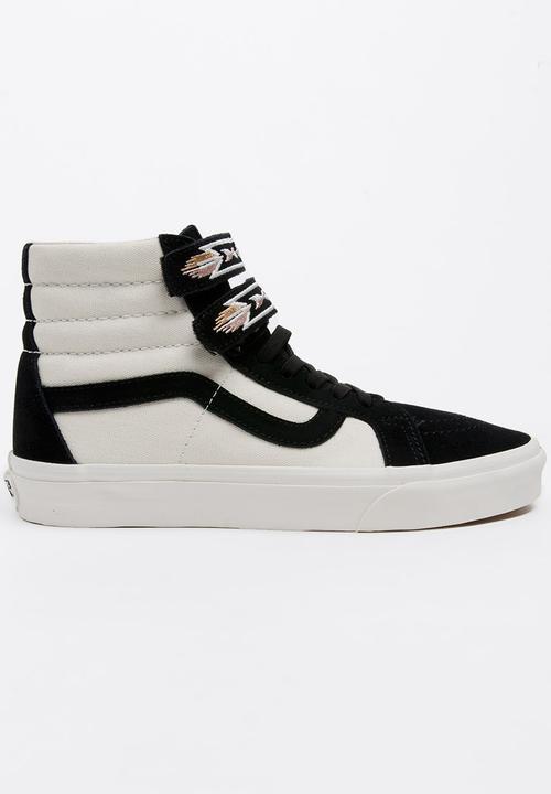 c58005d504 Vans Sk8-Hi Reissue V Sneakers Black and White Vans Sneakers ...