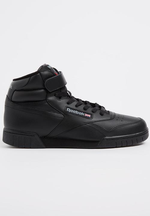 27c8a13460c Ex-O-Fit Hi Black Reebok Classic Sneakers