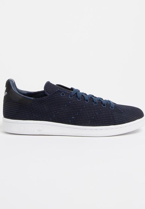 adidas Stan Smith Knit Sneakers Navy adidas Originals Sneakers ... b945757e518c