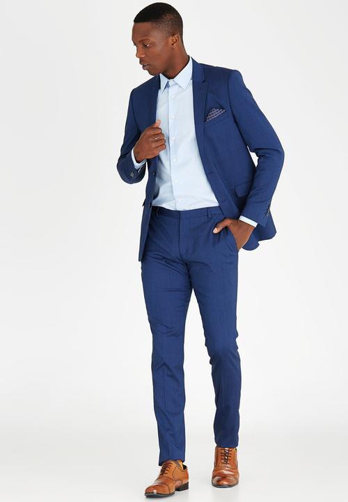 e5b957c3d309 Slim Fit Suit - Blue POLO Jackets   Superbalist.com