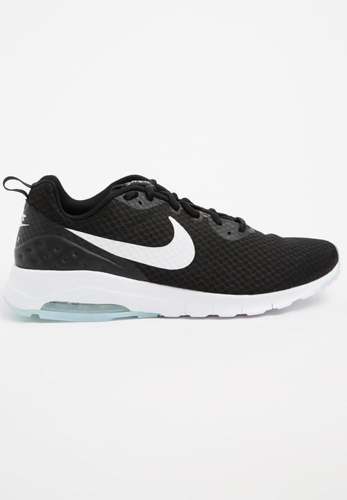 4f57ce696104a Nike Air Max Motion Black and White Nike Trainers